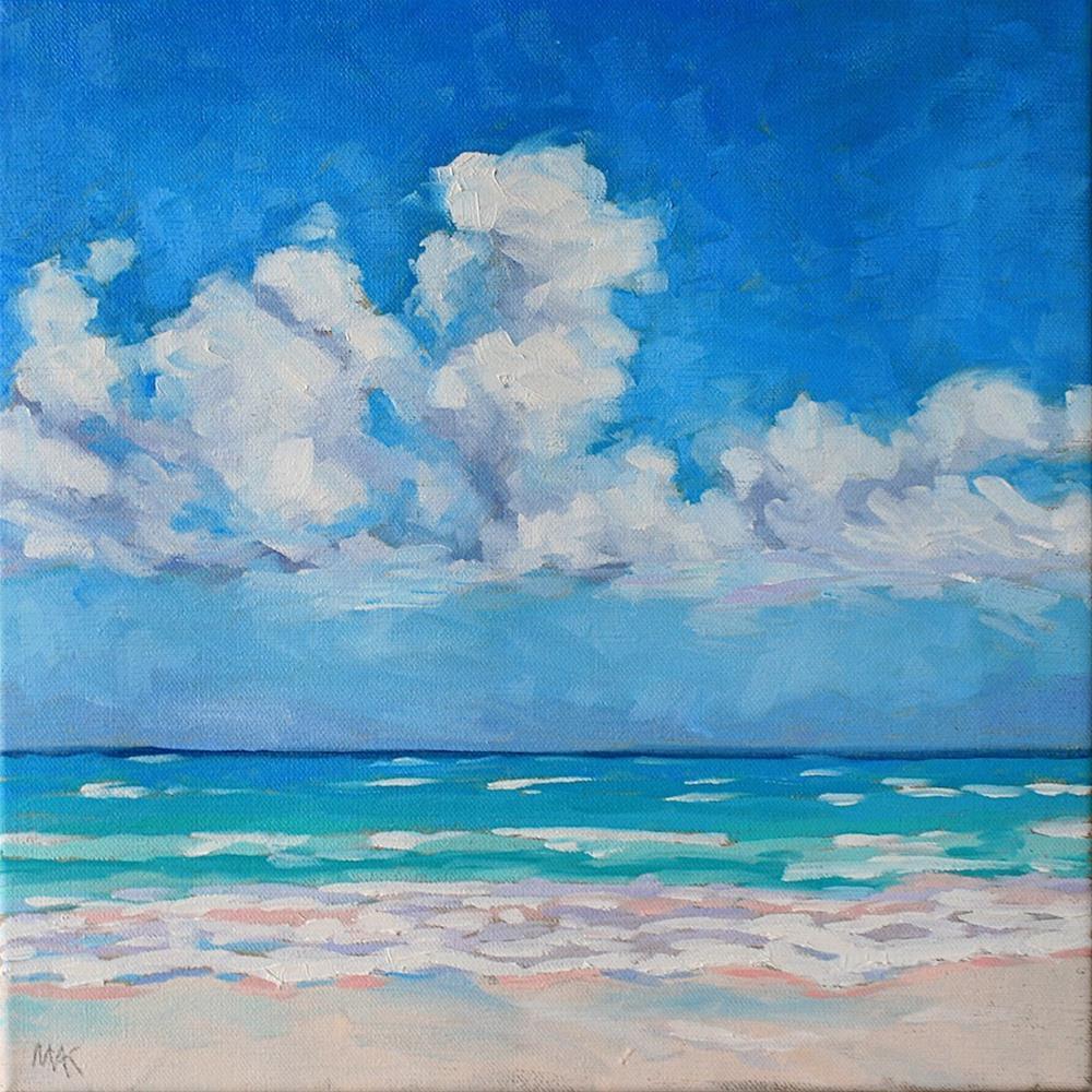 """Bahama Blues"" original fine art by Mary Anne Cary"