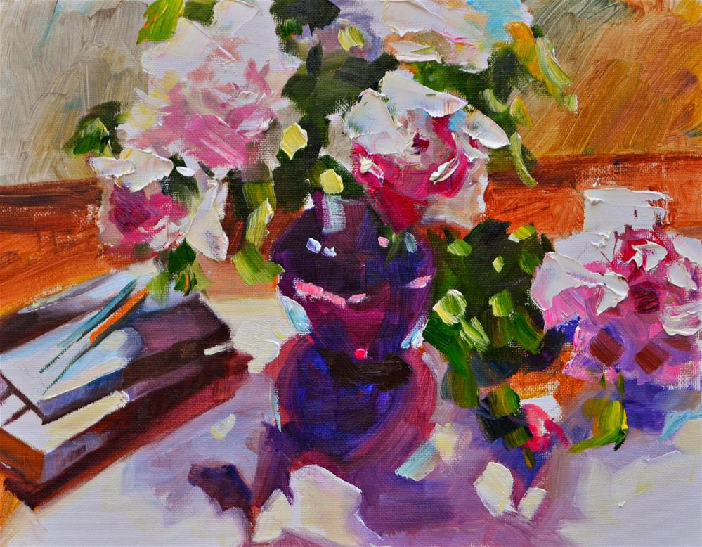 """DIARIES"" original fine art by Cecilia Rosslee"