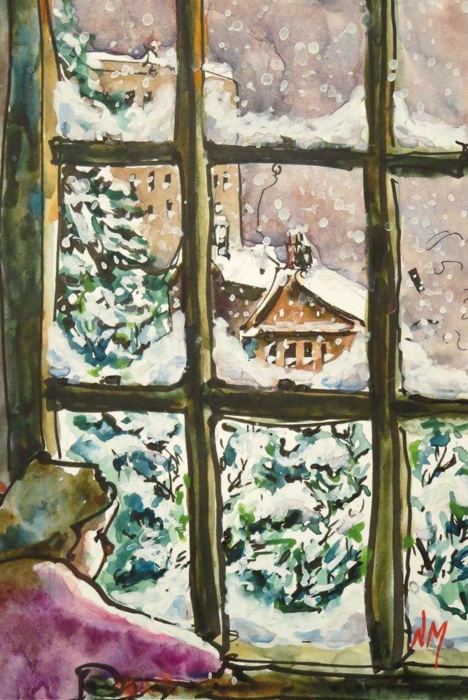 """""""rest assured"""" original fine art by Nora MacPhail"""
