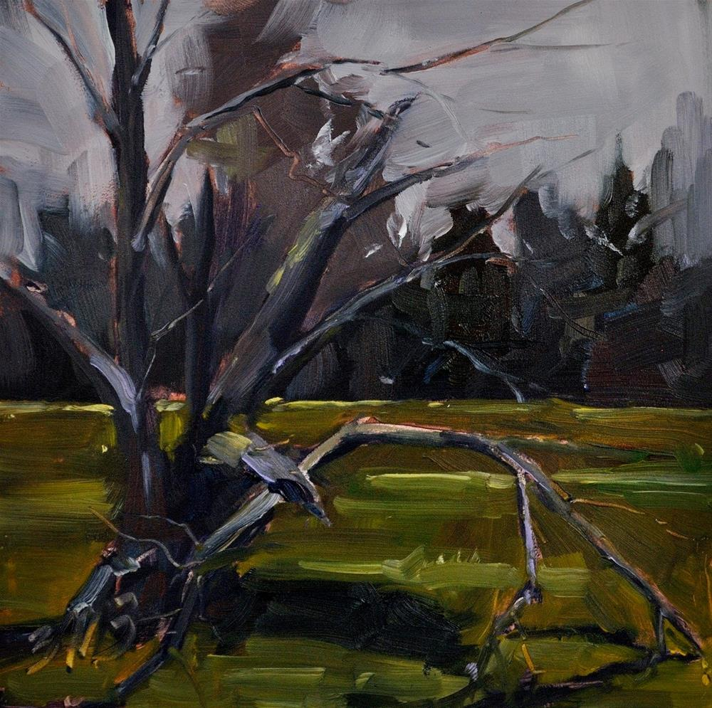 """""""Still Here"""" original fine art by Brienne M Brown"""