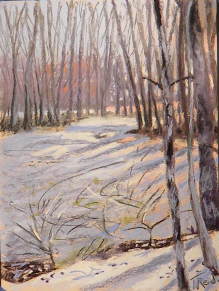 """""""Trail light"""" original fine art by Toby Reid"""