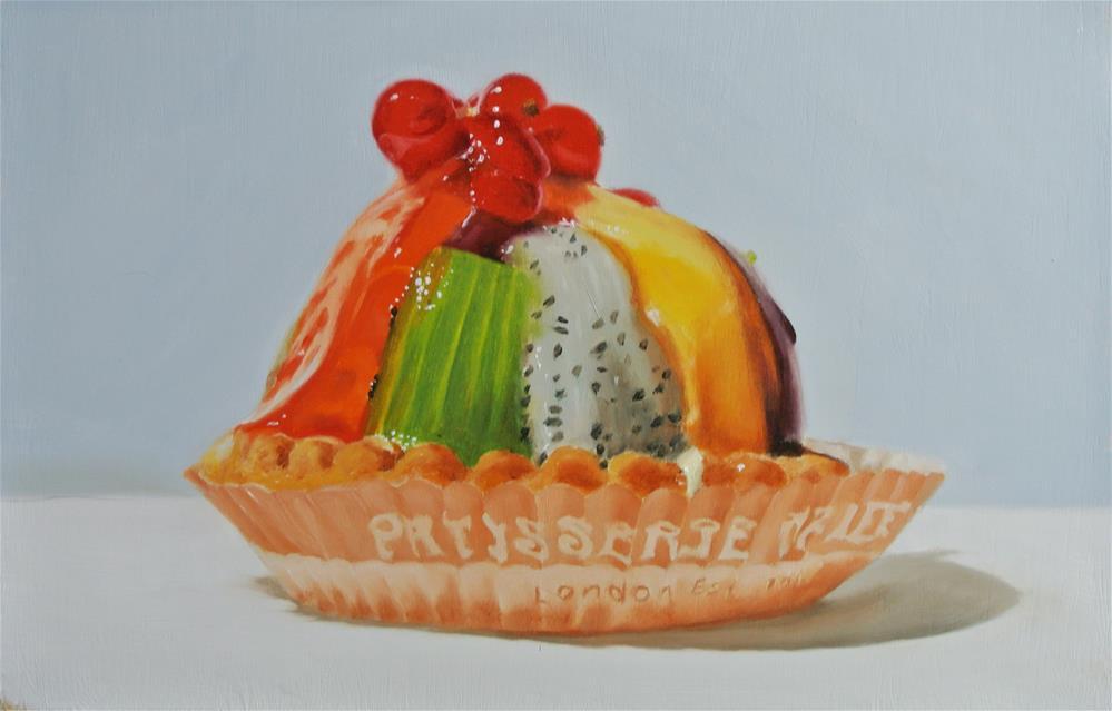 """Fruit Pastry 1"" original fine art by James Coates"