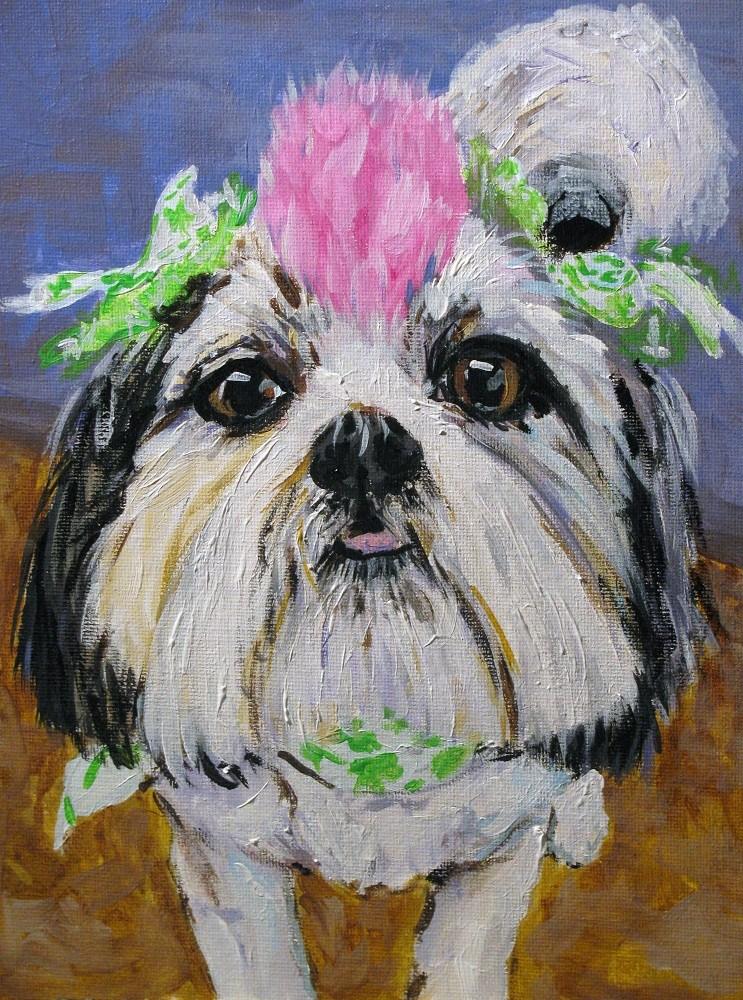 """Sassy Sadie"" original fine art by Susan Elizabeth Jones"