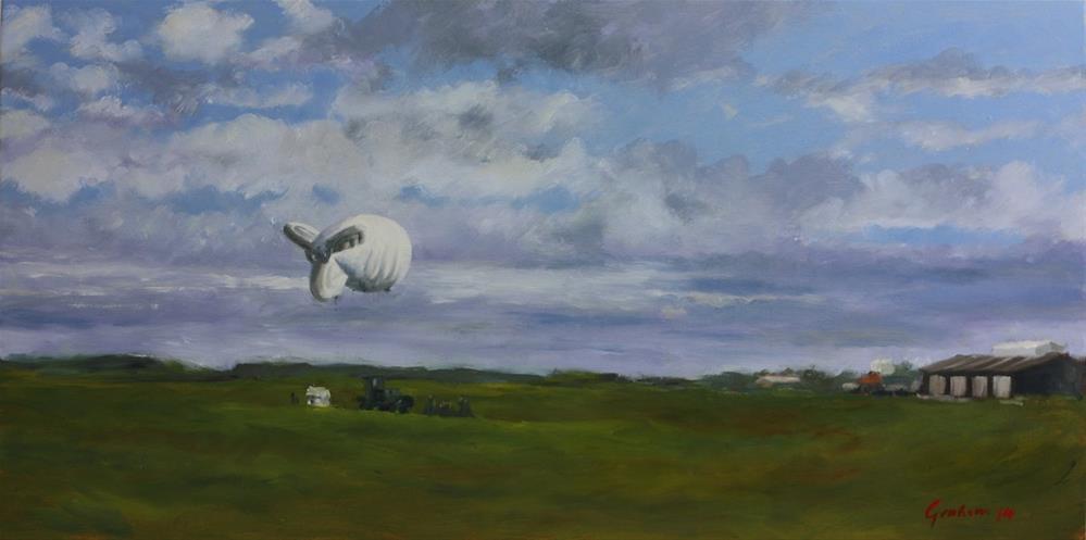 """Knowledge Dispels Fear"" original fine art by Graham Townsend"