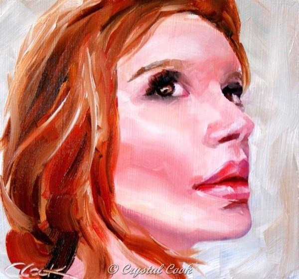 """""""Ginger"""" original fine art by Crystal Cook"""