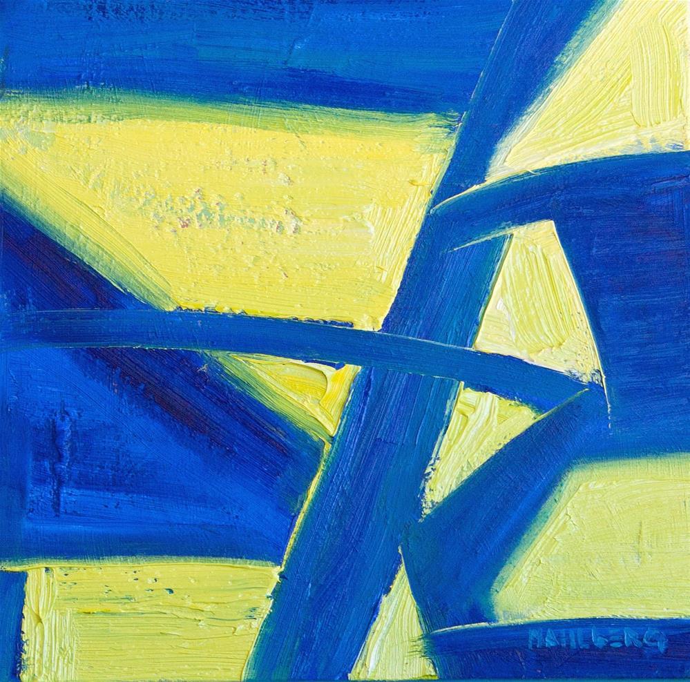 """Leadership Assumption, Numbers 27:18"" original fine art by Cynthia Mahlberg"