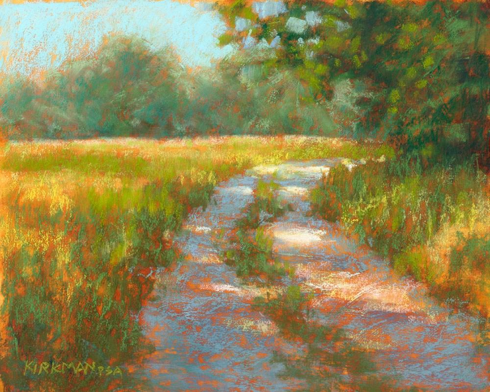 """Ranch Road #21"" original fine art by Rita Kirkman"