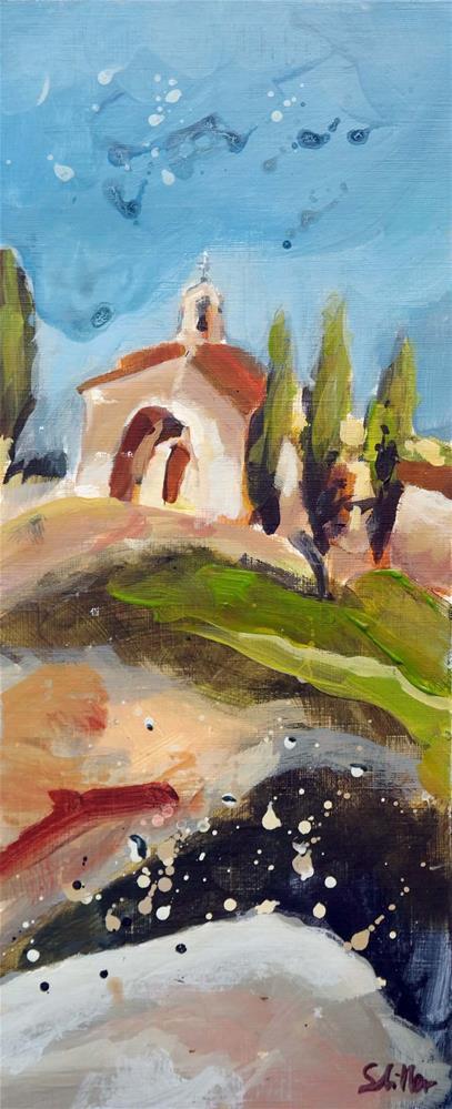"""""""1834 High Chapel 2"""" original fine art by Dietmar Stiller"""