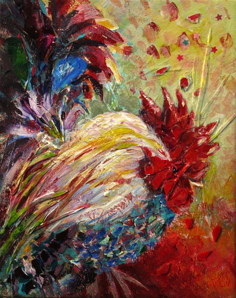 """""""Star Attraction"""" original fine art by Melissa Gannon"""