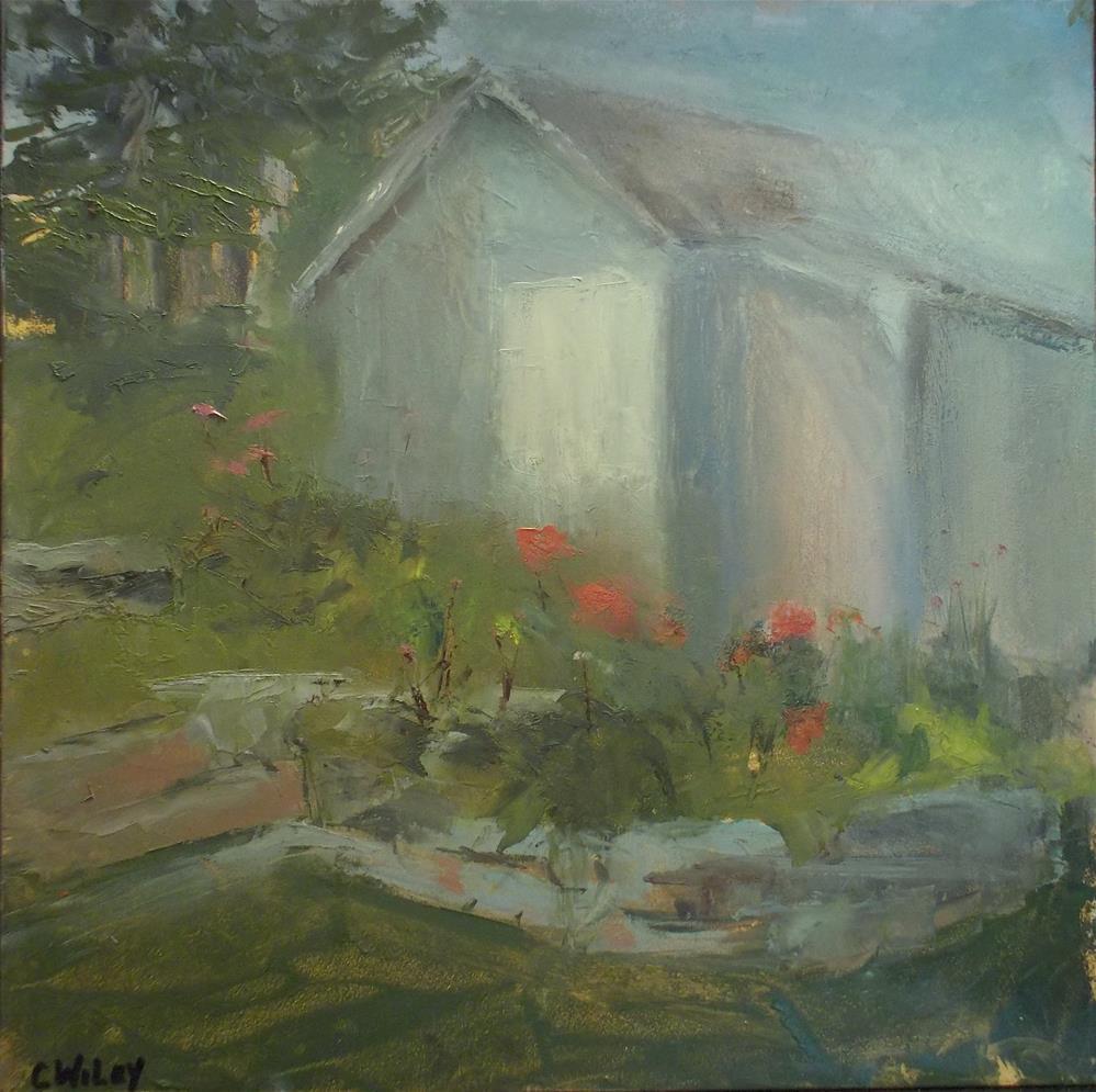 """Henry's Shack"" original fine art by Carol Wiley"
