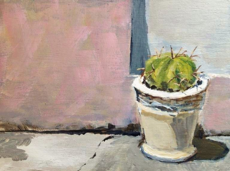 """Cactus"" original fine art by Gary Bruton"