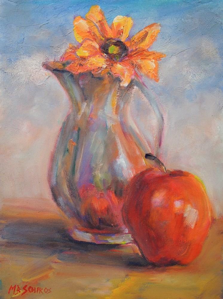"""A Natural Still-life"" original fine art by Mary Schiros"