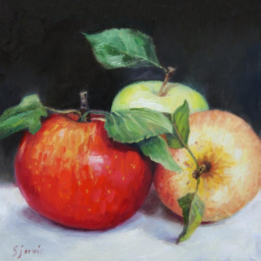 """""""Trio"""" original fine art by Susan N Jarvis"""