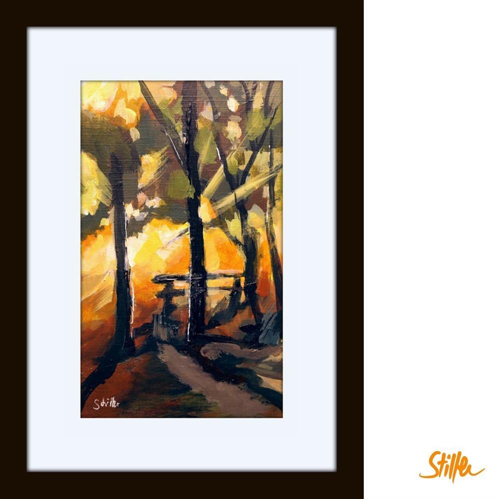 """""""3355 Miniature Woodland"""" original fine art by Dietmar Stiller"""