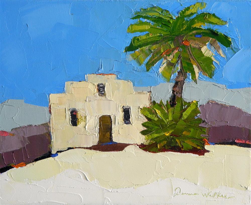 """Oasis"" original fine art by Donna Walker"
