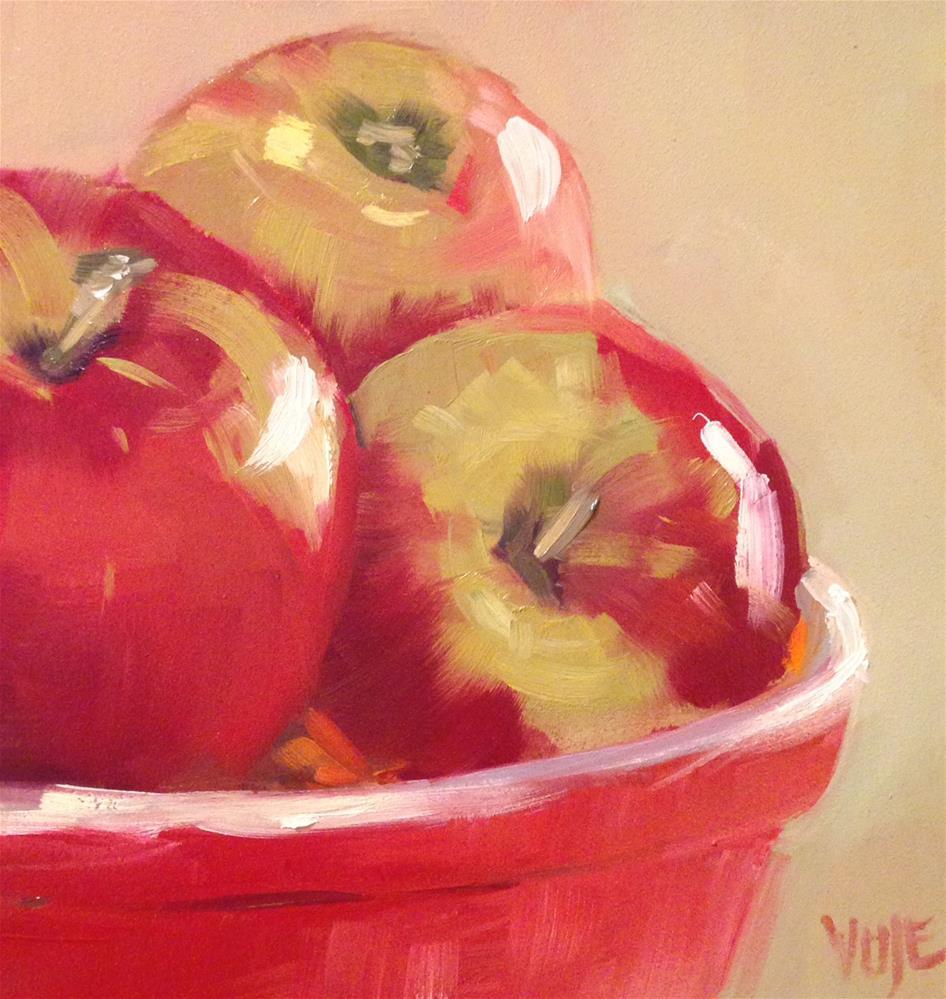 """#32 Three is a Crowd"" original fine art by Patty Voje"