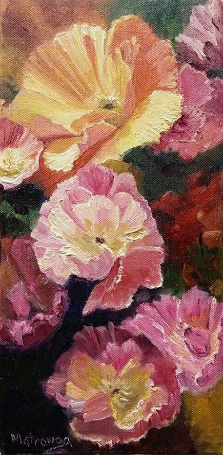 """""""Becoming Blossoms"""" original fine art by Patricia Matranga"""