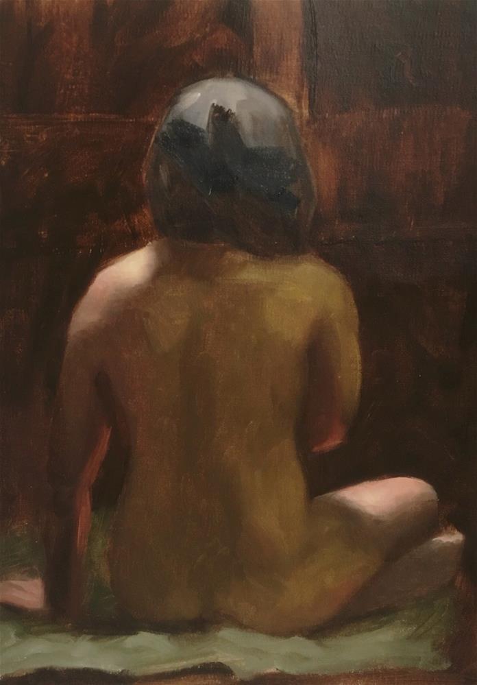 """""""#15"""" original fine art by Van DeGoede"""