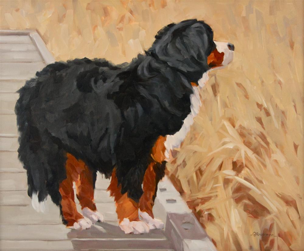 """The Reeds"" original fine art by C J Roughton"