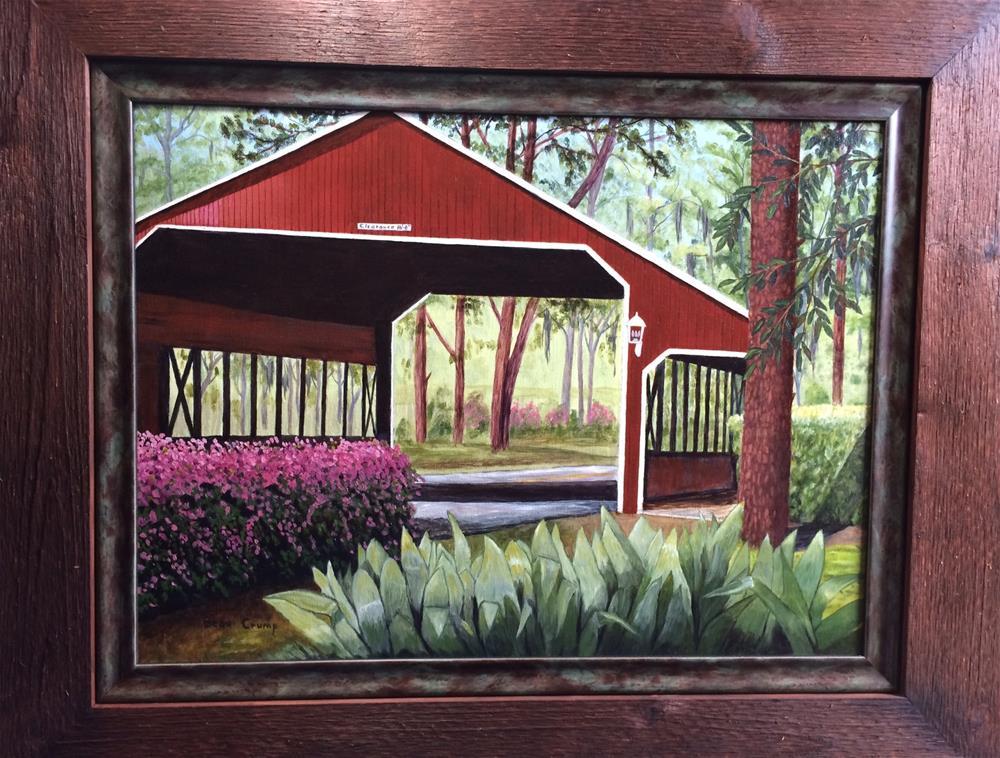 """River Plantation Bridge"" original fine art by Beau Crump"
