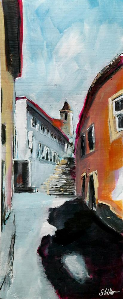 """2450 High Noon Church"" original fine art by Dietmar Stiller"
