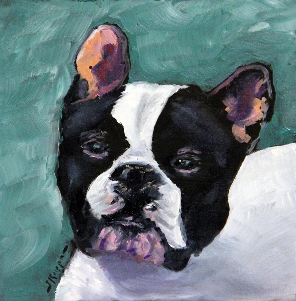 """""""Sherman"""" original fine art by Shelley Koopmann"""