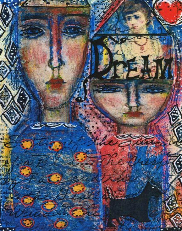 """Dream"" original fine art by Sonja Sandell"