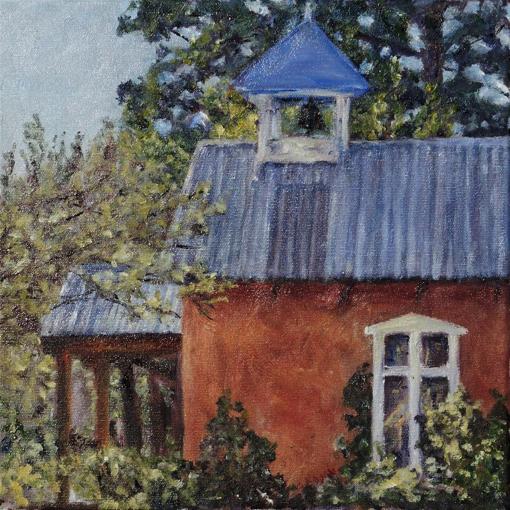 """Southwest Chapel"" original fine art by Candi Hogan"