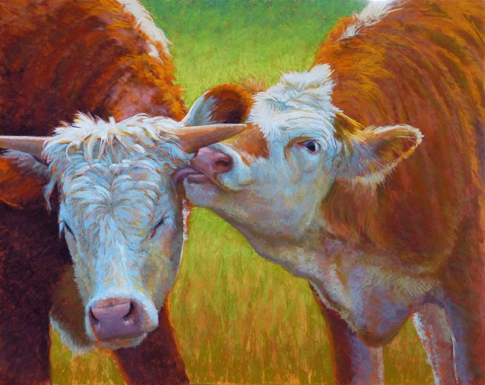 """Brotherly Love"" original fine art by Rita Kirkman"
