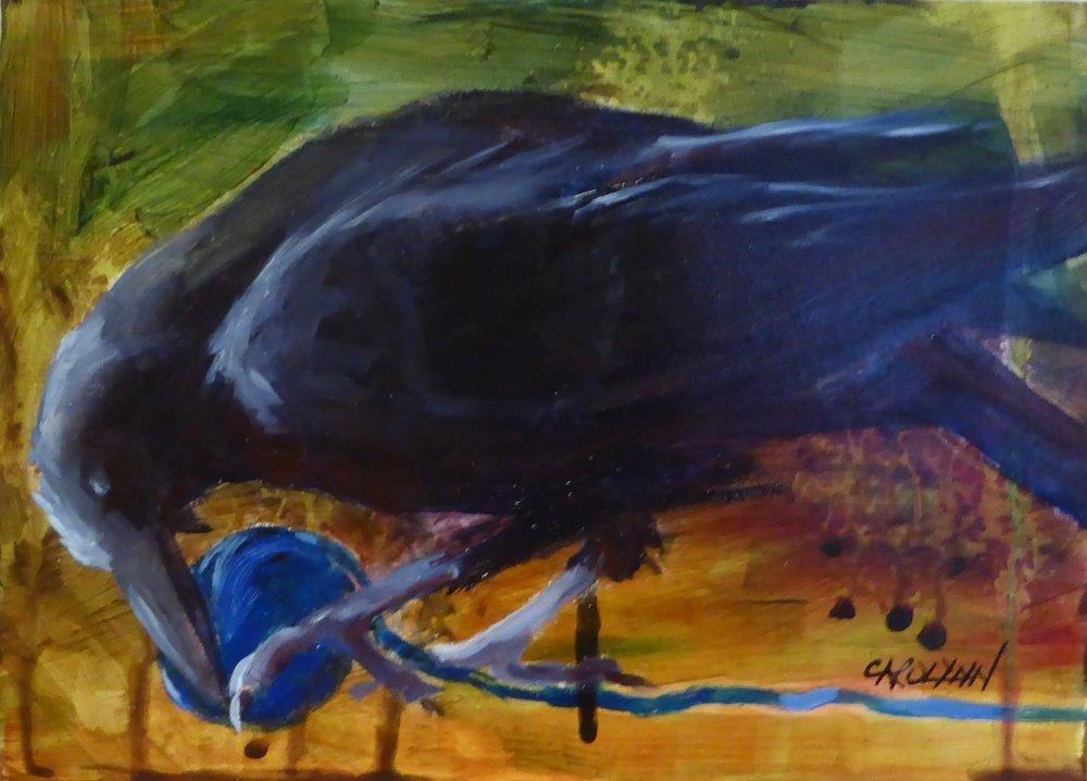 """Controlling the Situation"" original fine art by Carolynn Doan"