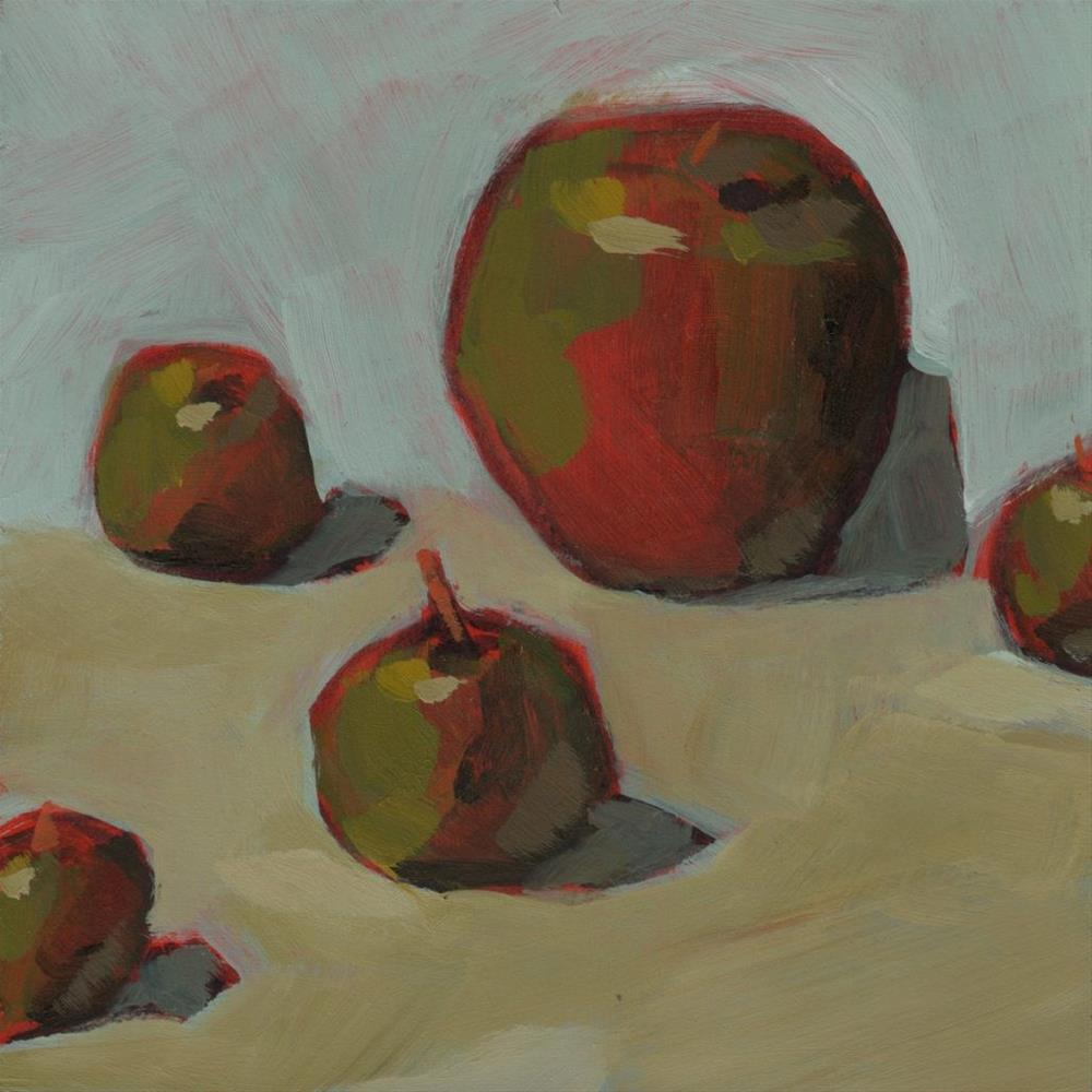 """Lady Apples (#296)"" original fine art by Brian Miller"