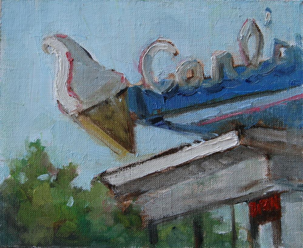 """Carl's"" original fine art by Carol Josefiak"
