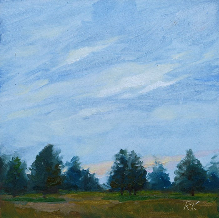 """Away from the Overlook"" original fine art by Rita Kirkman"