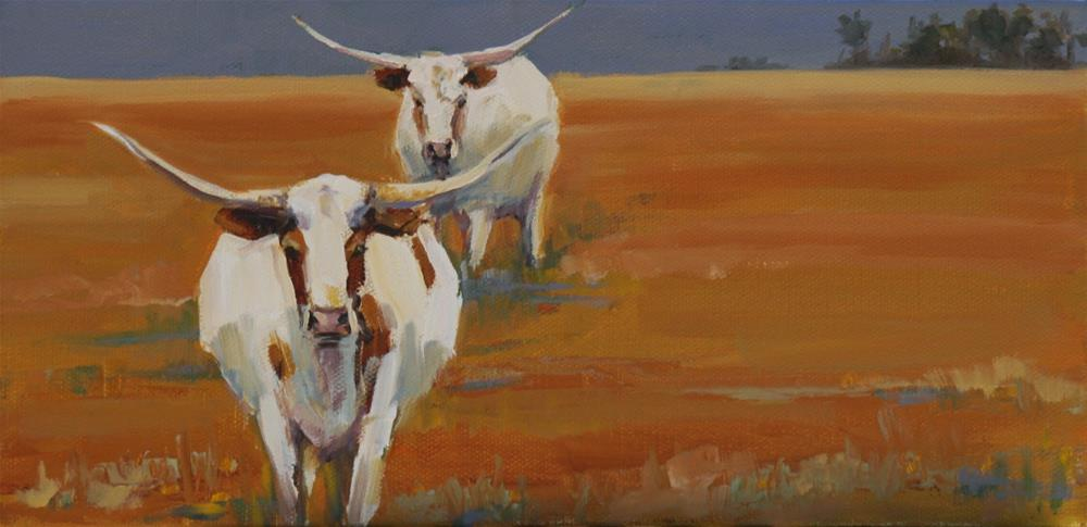 """getting close"" original fine art by Carol Carmichael"