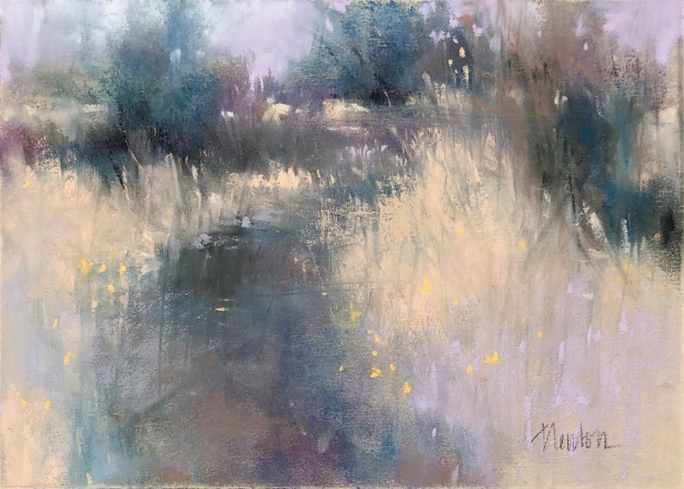 """Meadow 3"" original fine art by Barbara Benedetti Newton"