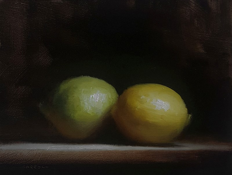 """Lime and Lemon"" original fine art by Neil Carroll"