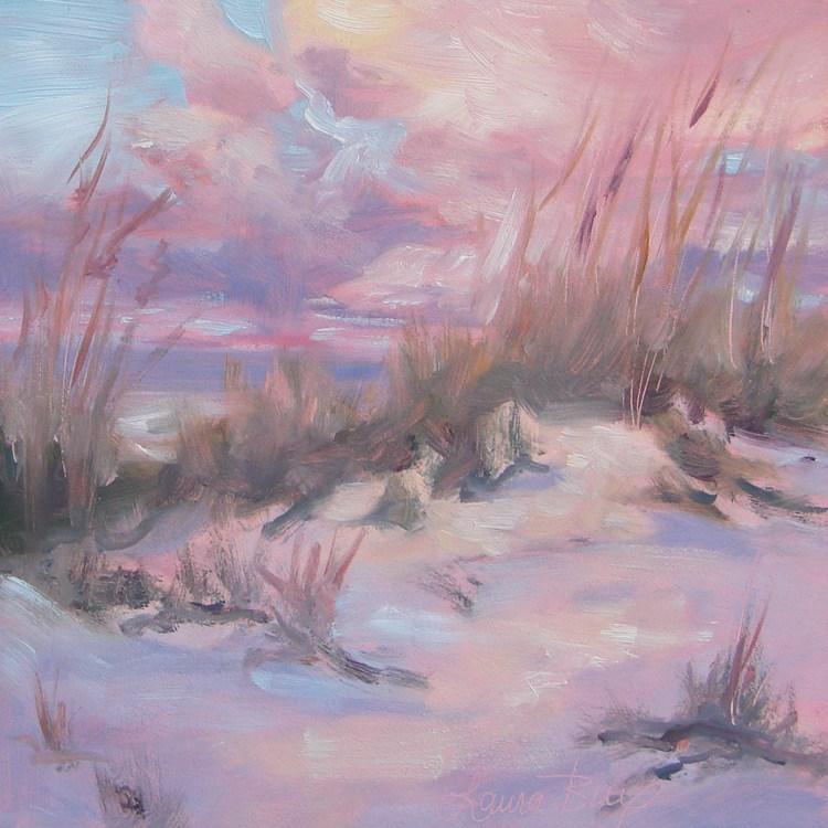 """Nice and Warm 430"" original fine art by Laura  Buxo"