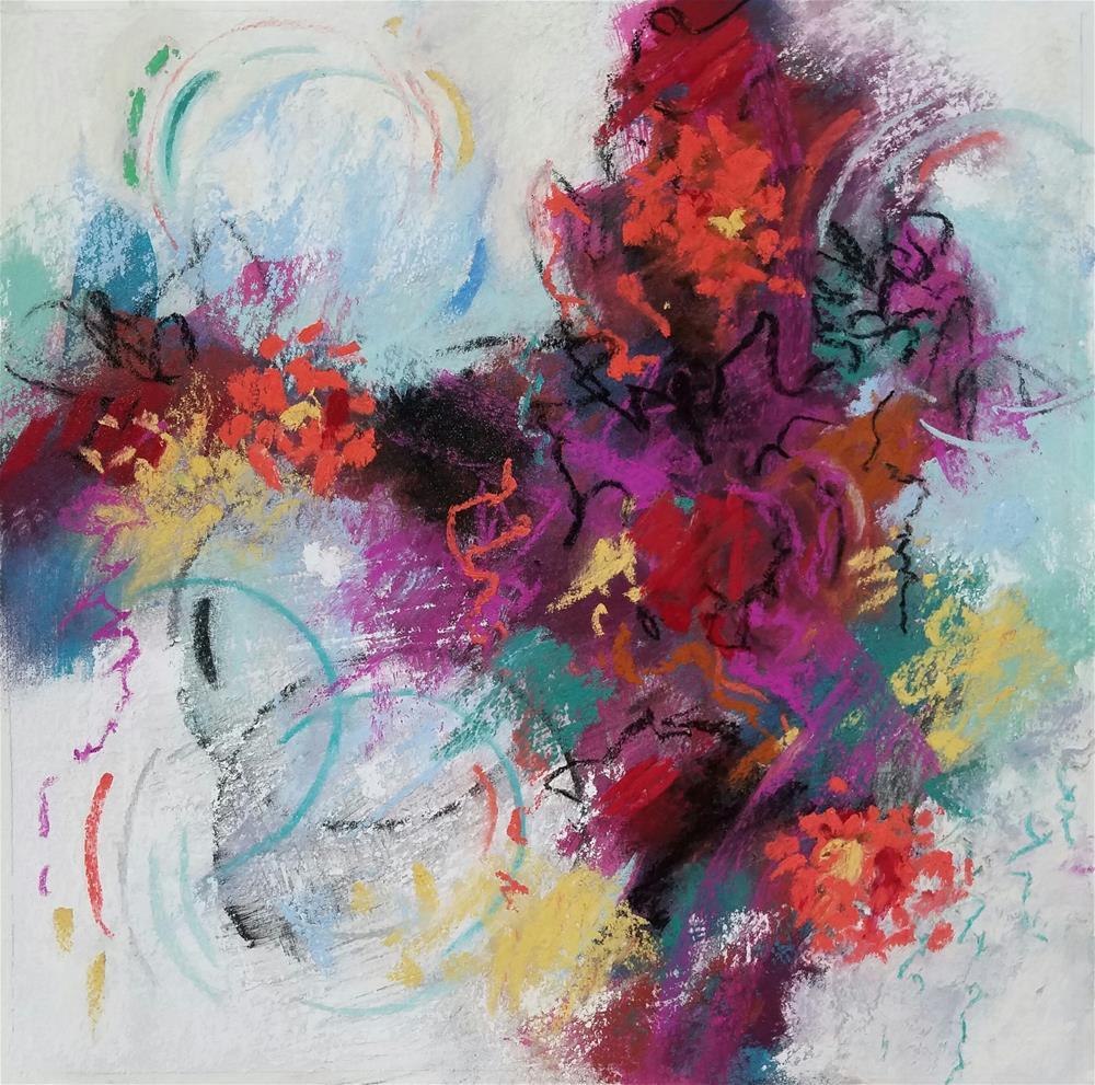 """Untitled 1027"" original fine art by Cindy Haase"