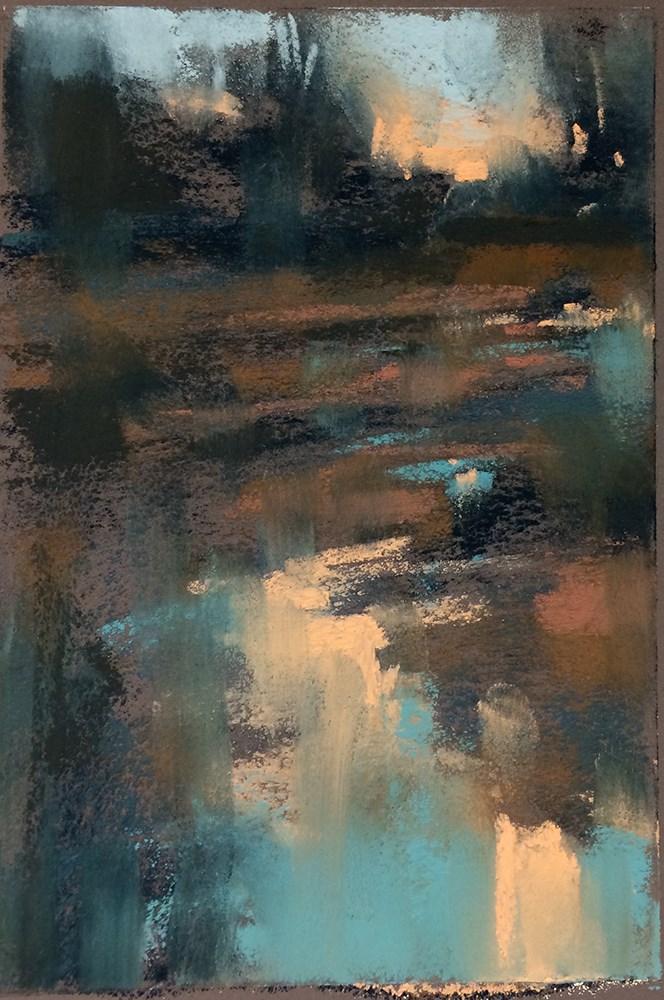 """""""By Dusk"""" original fine art by Marla Baggetta"""
