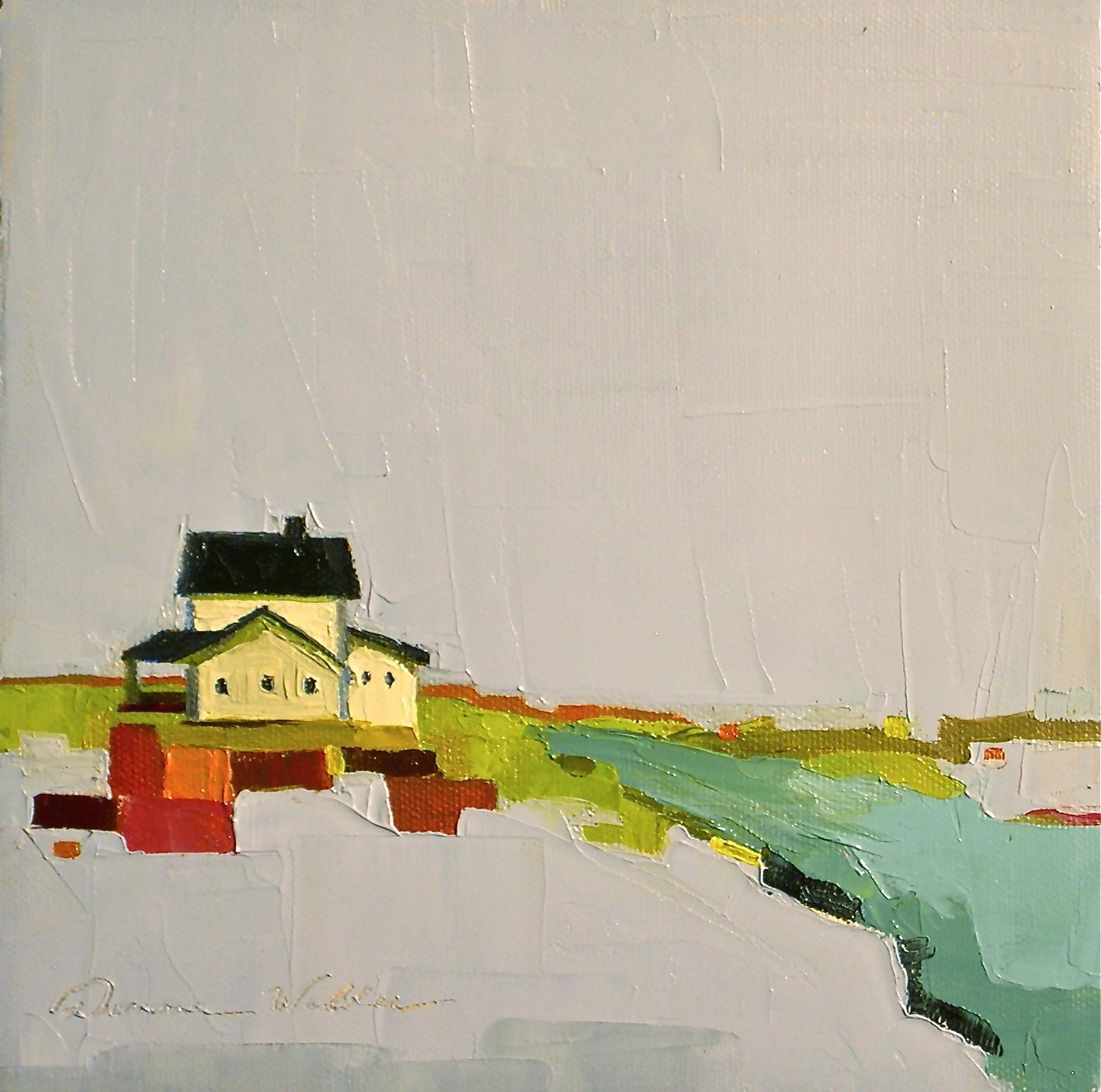"""Promise of Living II"" original fine art by Donna Walker"