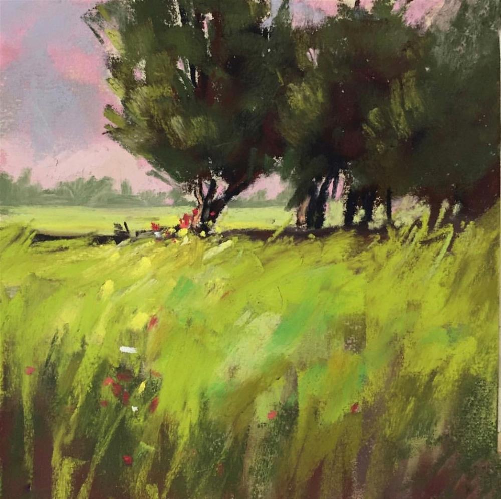 """Spring Fling"" original fine art by Sherri Cassell"