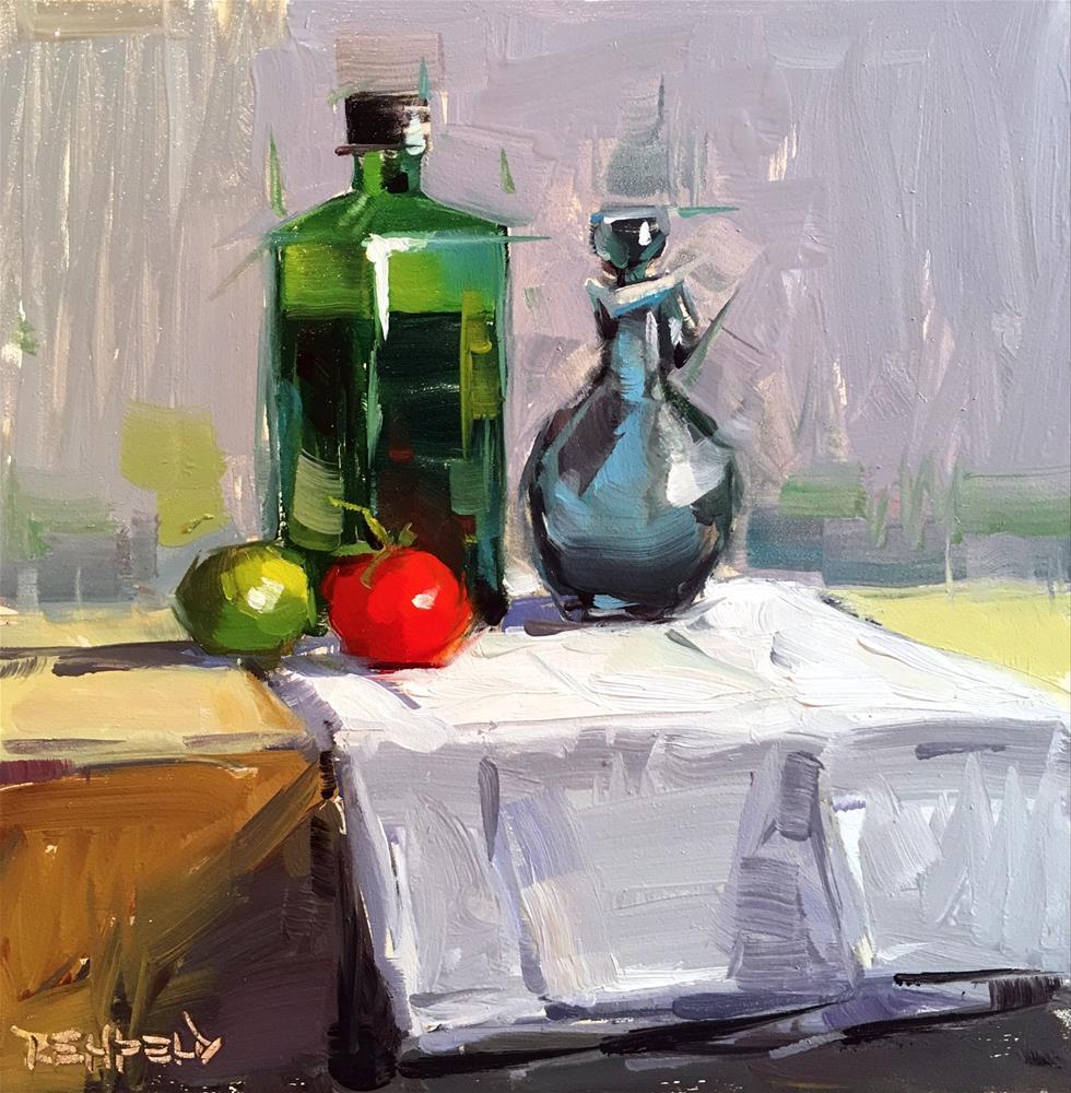 """Oil and Vinegar"" original fine art by Cathleen Rehfeld"