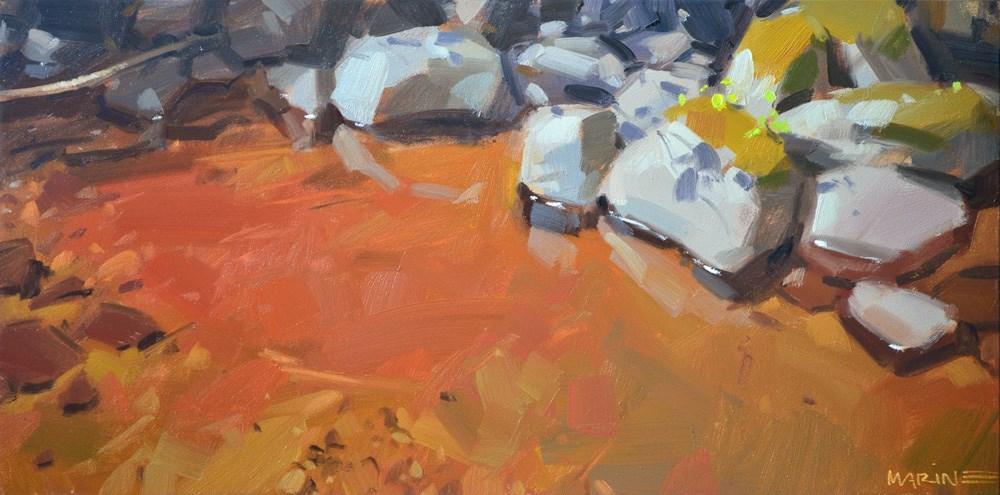 """A Calm Spot"" original fine art by Carol Marine"