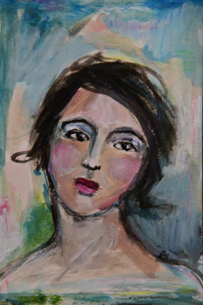 """Arianna"" original fine art by Roberta Schmidt"