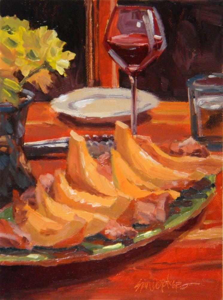"""Primi Piatti"" original fine art by Erin Dertner"