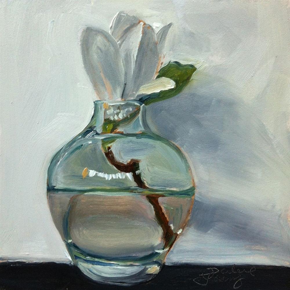 """633 Little Magnolia #2"" original fine art by Darlene Young"