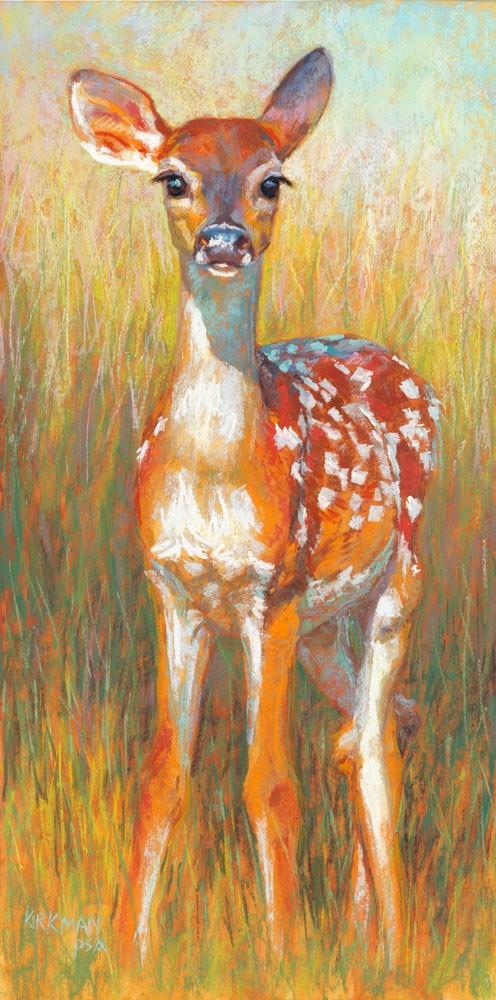 """Springtime Serenade (and IAPS available spaces!)"" original fine art by Rita Kirkman"