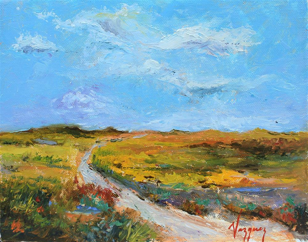 """""""Landscape"""" original fine art by Marco Vazquez"""