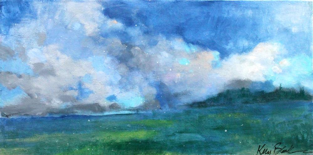 """Wide Open Spaces "" original fine art by Kerri Blackman"
