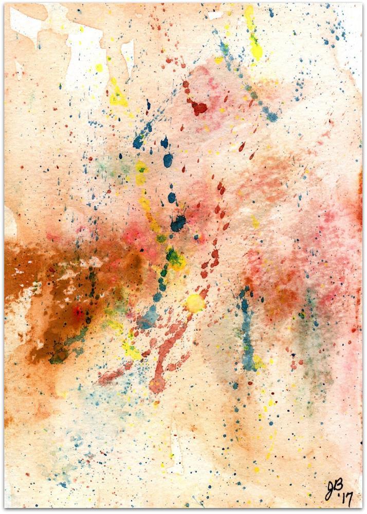 """Splash Study"" original fine art by Jan Burch"